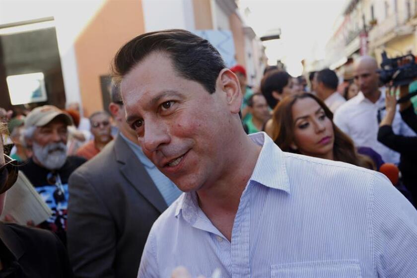 """El portavoz del Partido Independentista Puertorriqueño (PIP), Juan Dalmau, dijo hoy que la sentencia de la jueza Laura Taylor Swain """"es una reafirmación del sistema colonial"""". EFE/ARCHIVO"""