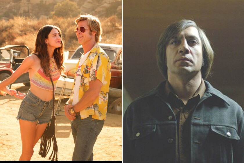 'Once Upon a Time ... in Hollywood' and 'No Country for Old Men'
