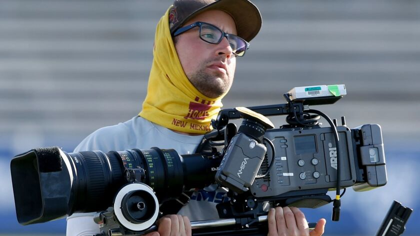 """Hard Knocks"" crews shoot 350 to 400 hours of film for each one-hour show."