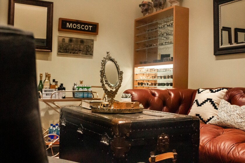 Moscot interior