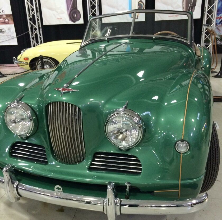 British Invasion at San Diego Automotive Museum