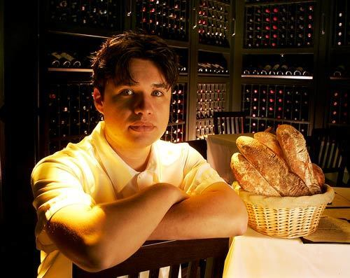 Matt Molina, 29, is the executive chef at Osteria Mozza and Pizzeria Mozza in Los Angeles.