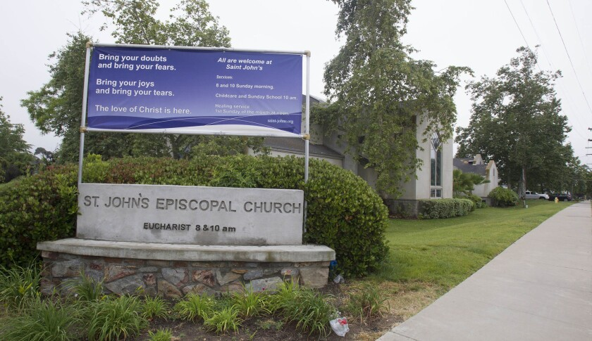 Parents of students at Saint John's Episcopal School in Chula Vista received notice that the church