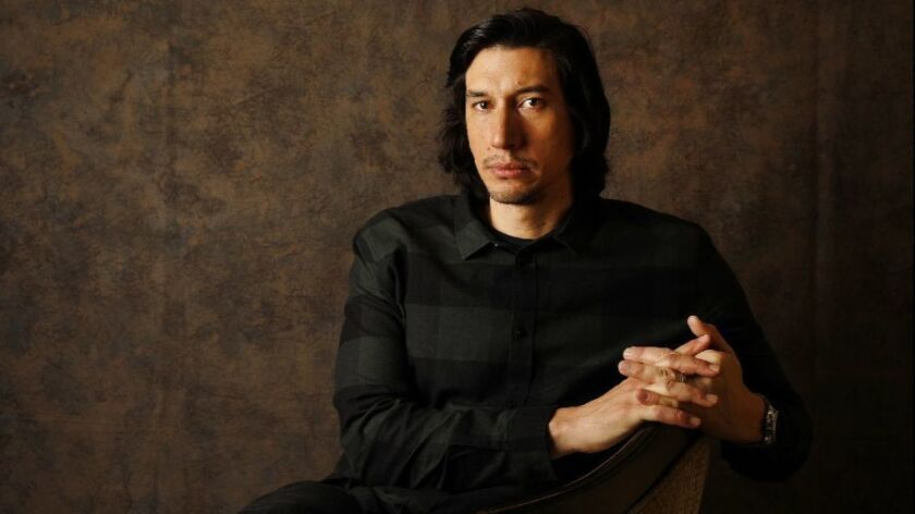 Q&A: As an undercover cop in 'BlacKkKlansman,' Adam Driver takes it personally