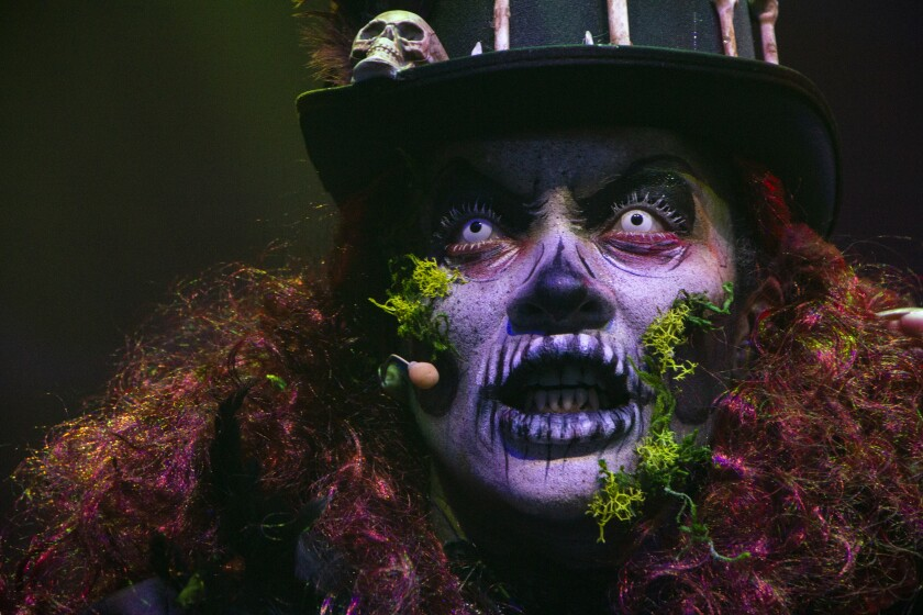 The Bayou Witch at the SeaWorld Mission Bay Theater