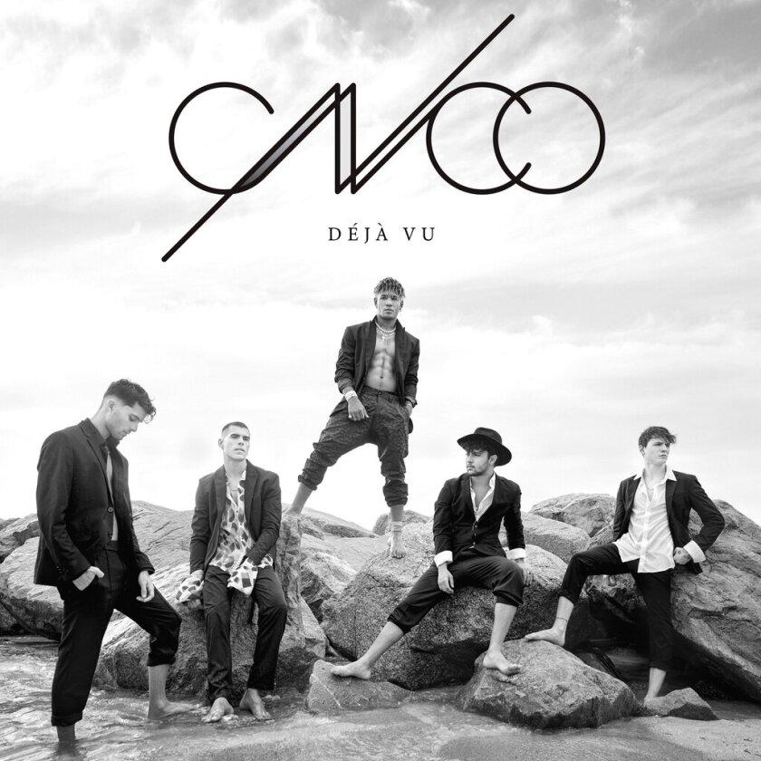 "La portada del álbum ""Déjà vu'"" de CNCO en una imagen proporcionada por Sony Latin."