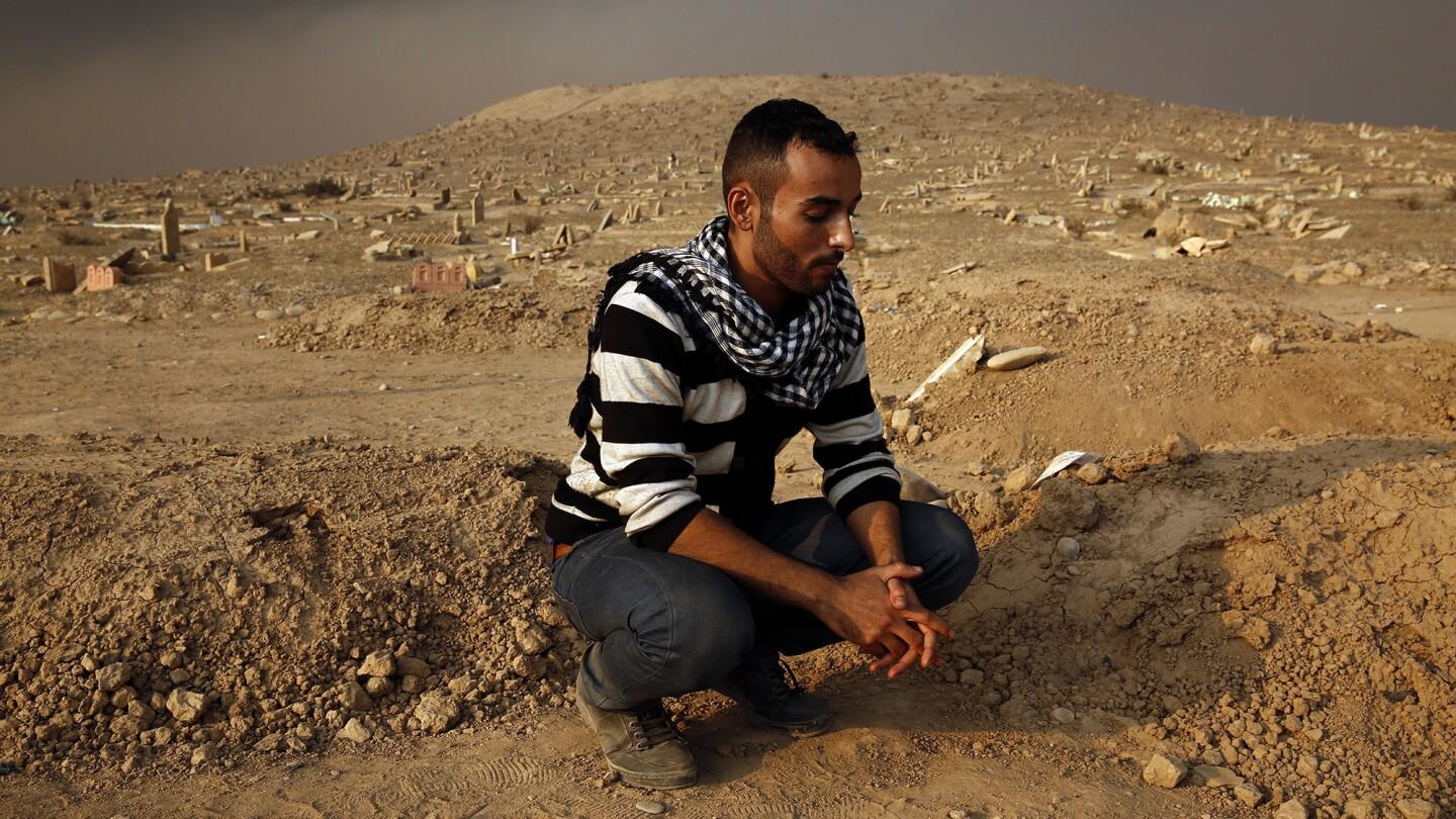 Mohammed Said Mohammed lost his brother Faras Said Mohammad, who was executed by Islamic State as he defended Mosul last week. He lost two brothers and several cousins in battles with the militants.