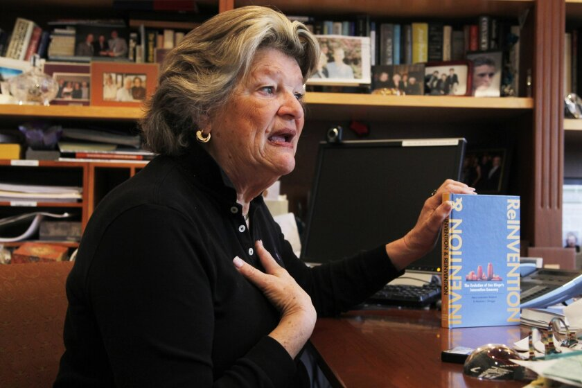 Mary Lindenstein Walshok, dean of UCSD Extension, talks about her book called Invention and Reinvention: The Evolution of San Diego's Innovation Economy.