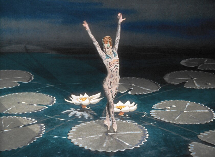 """Dancer Moira Shearer stars in """"The Tales of Hoffmann,"""" which has been restored."""