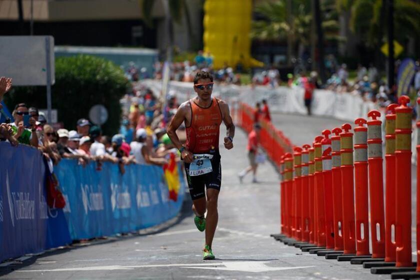 Iván Raña, tercero en el Ironman de Cozumel