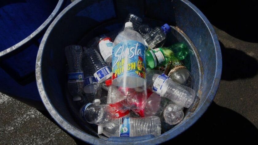 About half of the plastic thrown in U.S. recycling bins used to be shipped to China, but in 2017 that nation restricted its purchases. Now, some companies are looking to use recycled plastic to build roads.