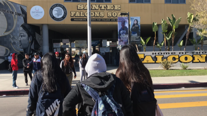 110 escuelas de LAUSD con el rendimiento más bajo en California. Latinos y minorías los mas afectados