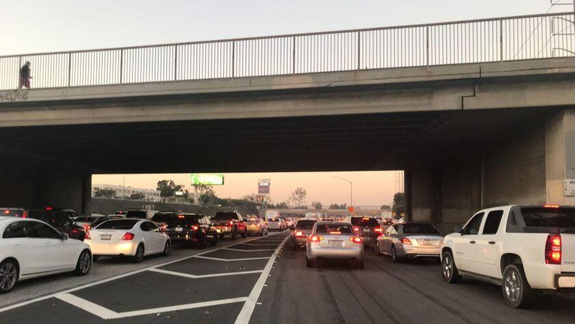 405 Freeway reopened in Inglewood