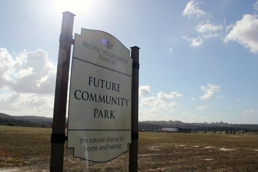 A committee is in the planning and design phase for a 13.5-acre park and 17,000-square-foot recreation center. Photo by Karen Billing