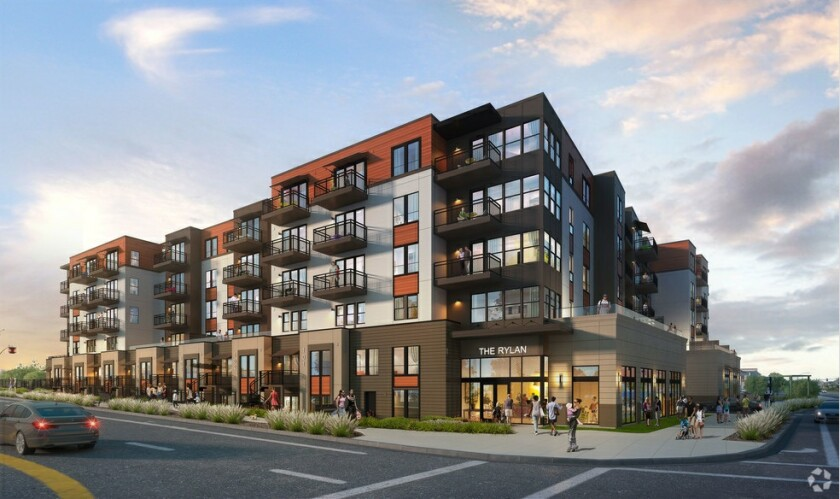 The Vista project at 100 Main St. will have 126 apartments.