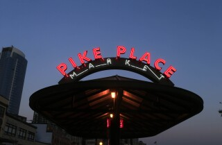 Postcards from the West | Pike Place Market in Seattle