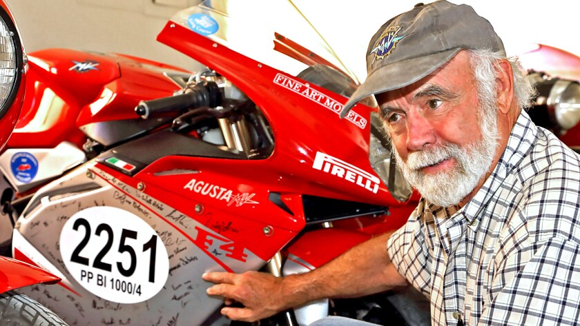 Robb Talbott's Carmel Valley motorcycle museum