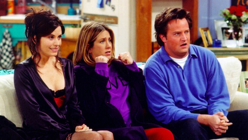 """""""Friends"""" and other shows that were successful in the late '80s and '90s are especially popular amon"""