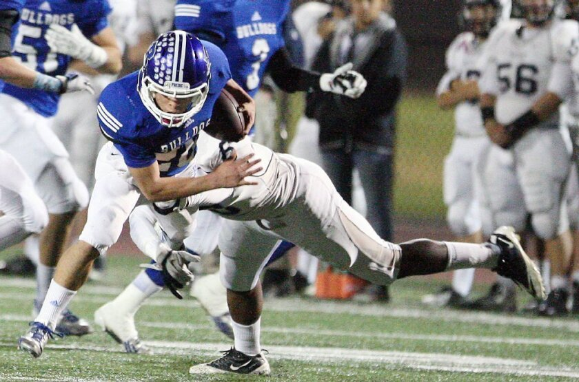 Burbank football gets surprise in Santa Fe for CIF playoffs