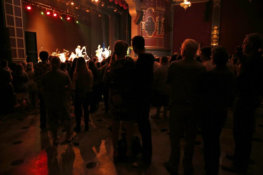 Attendees got a good look at Rusty Maples when the band opened for Rodriguez during the North Park Theatre's inaugural concert series in early June.