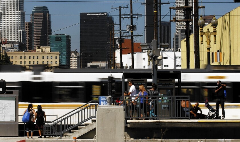 Residents living near Expo Line stations reduce car use, study shows