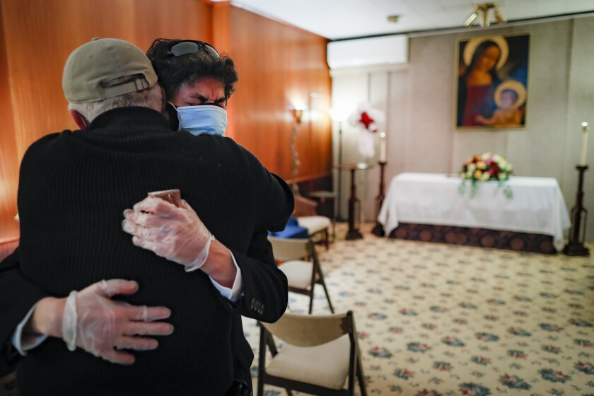 Virus Outbreak Lost Parishioners