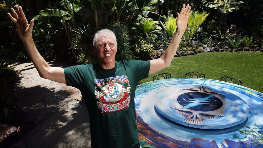 San Diego basketball legend Bill Walton was only 14 when the Summer of Love took place in 1967, but it had a profound and lasting impact on his life and sense of values.