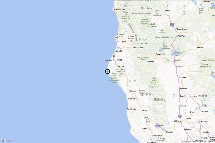 Earthquake: 4.1 quake strikes near Ferndale, California