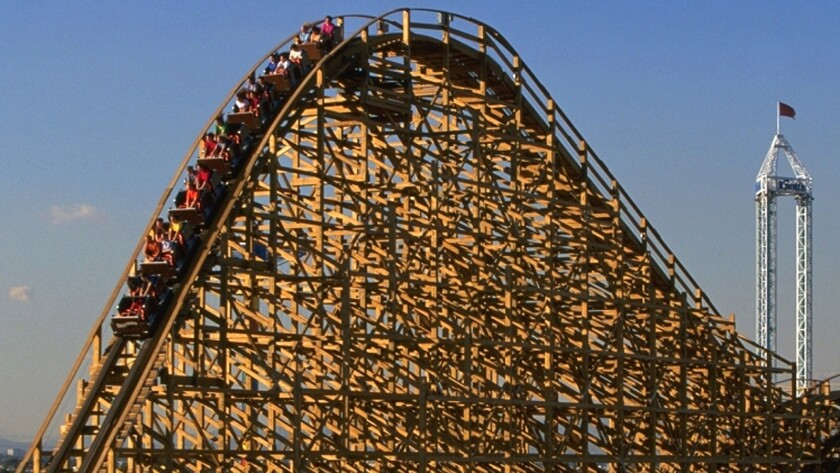 Knott's plans makeover of 17-year-old GhostRider wooden coaster