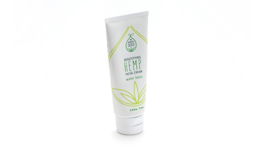 The Wonder Seed's Beautifying Hemp Facial Cream.