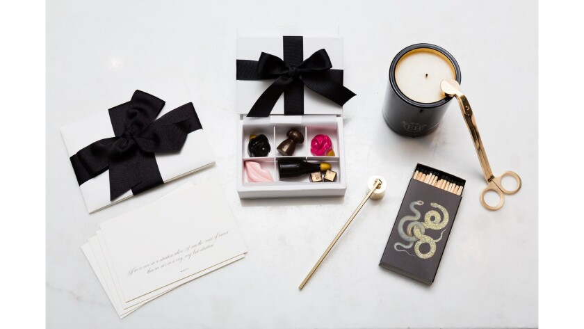Eric Buterbaugh Luxe Curated Gift Box.