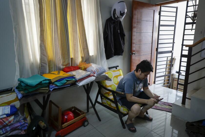 Virus Outbreak Philippines Photo Gallery