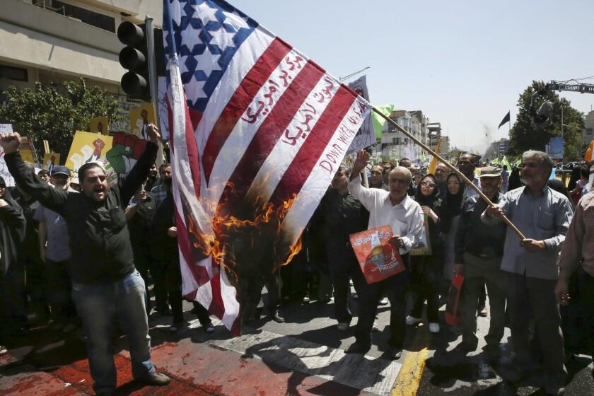 Iran rally