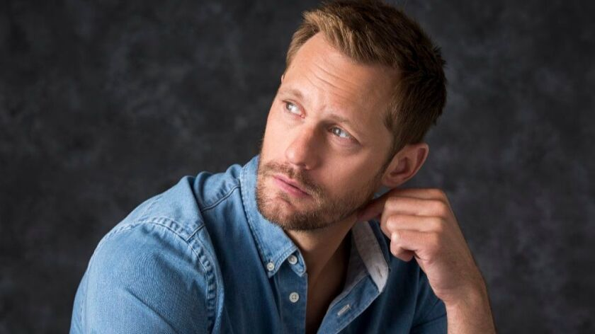 "Alexander Skarsgard, nominated for ""Big Little Lies."""