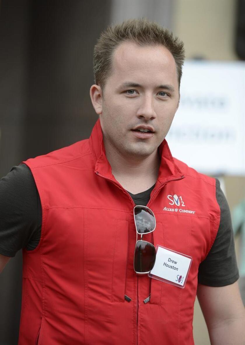 El director general y fundador de Dropbox, Drew Houston. EFE/Archivo