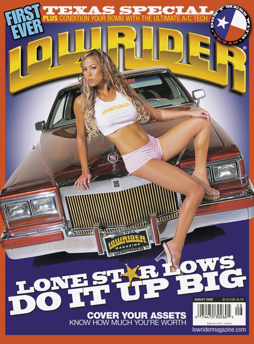 Lowrider's August 2005 cover