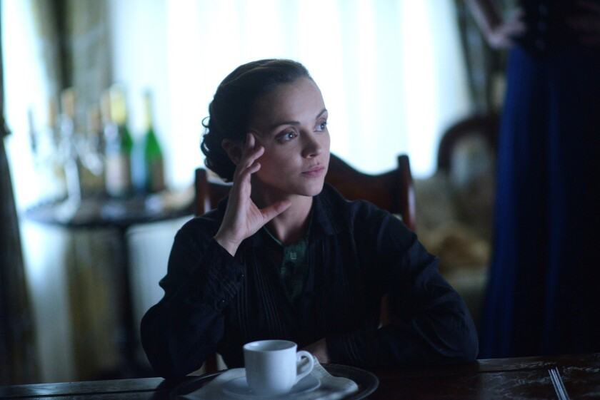"""Christina Ricci, seen here in """"Lizzie Borden Took an Ax,"""" will reprise her role in a new limited series on Lifetime."""