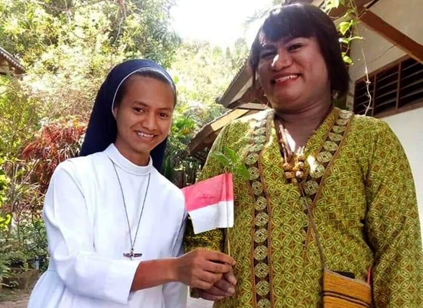 Hendrika Mayora Victoria Kelan remains active in her local parish.
