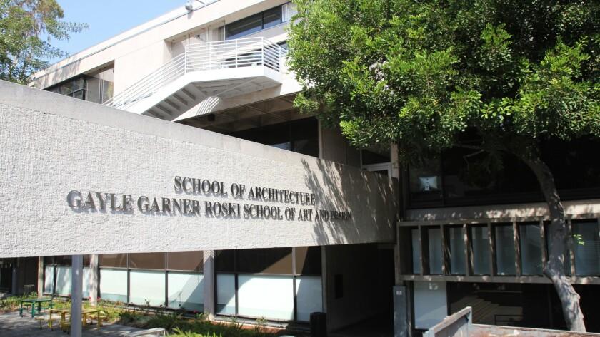The Roski School of Art and Design at Watt Hall at USC.
