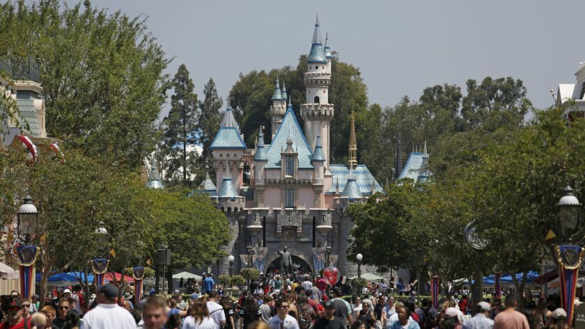 Under Proposition 13, tax assessments on properties such as Disneyland are tied to 1970s valuations.
