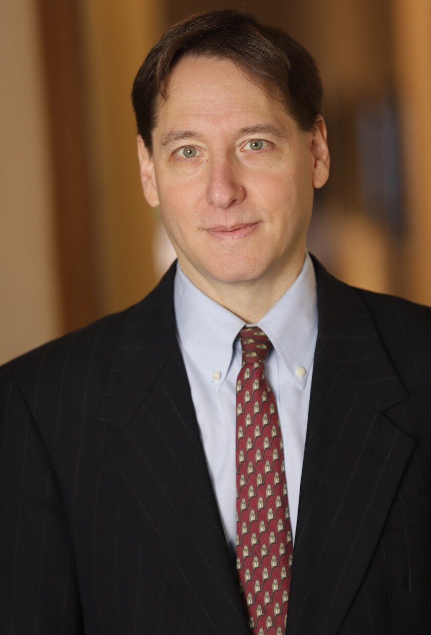 Jonathan Karp is the newly named CEO of Simon & Schuster, replacing Carolyn Reidy, who died on May 12.