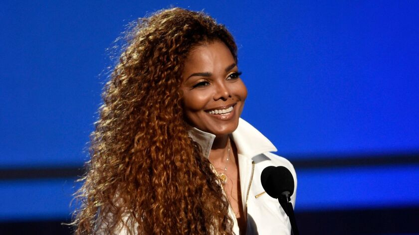 Janet Jackson, shown at the BET Awards in 2015, performed Sunday night at the Hollywood Bowl.