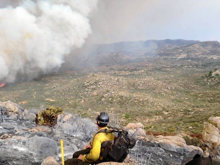 Storm cell spelled doom for Arizona firefighters
