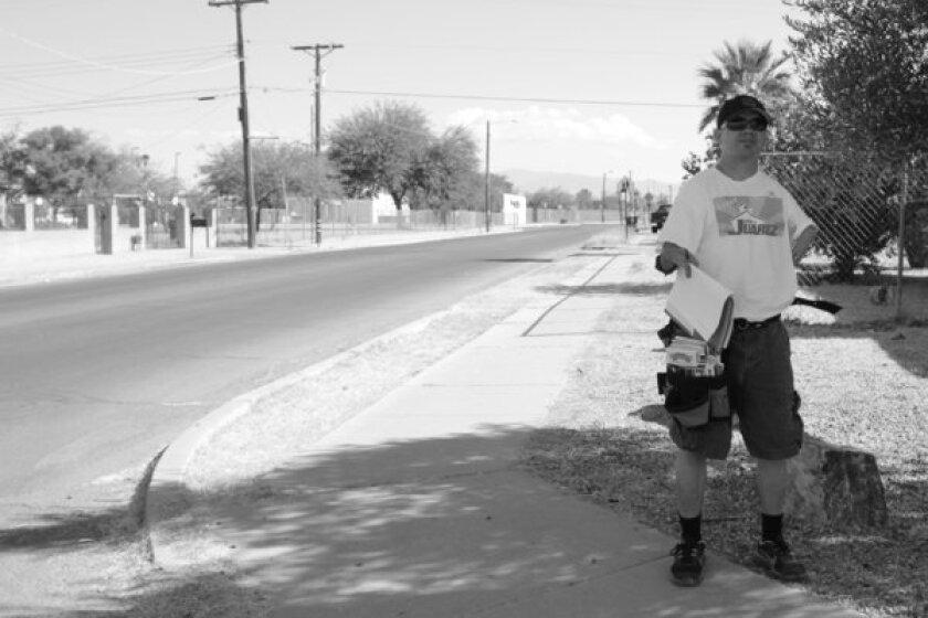 """Camiliano """"Cam"""" Juarez, during his successful 2012 campaign for school board in Tucson."""