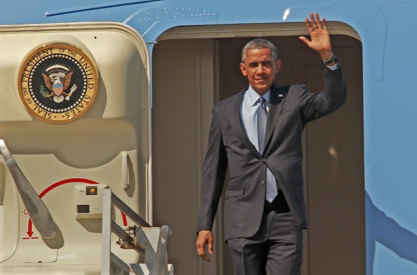 President Obama in Los Angeles