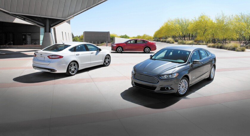 Ford Fusion Hybrids