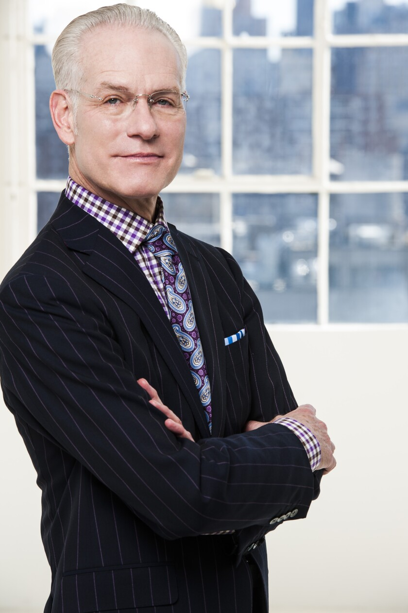 "Jewish Family Services of San Diego presents ""Making It Work: Life Lessons from Global Fashion Icon Tim Gunn"" on April 29."
