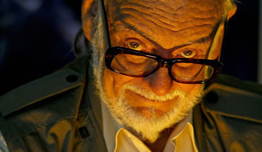 """George Romero directed """"Night of the Living Dead,"""" the film that helped inspire """"The Walking Dead."""""""
