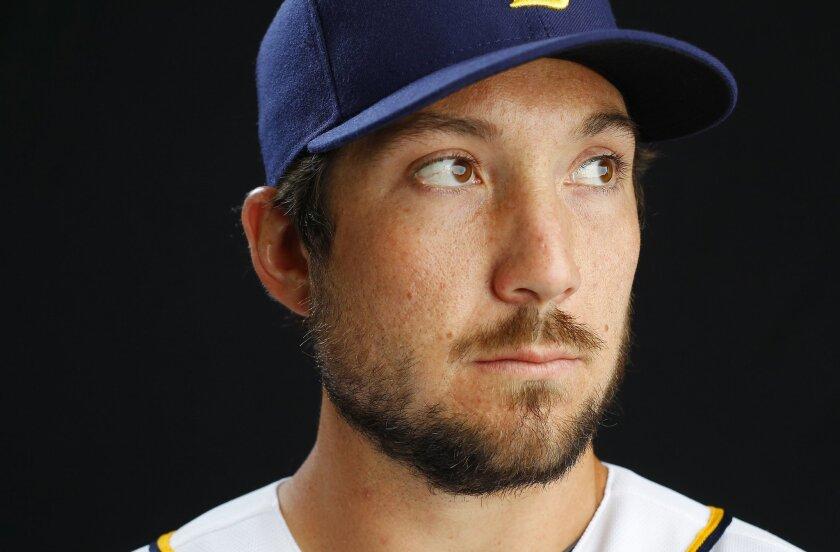 San Diego Padres infielder Brett Wallace.