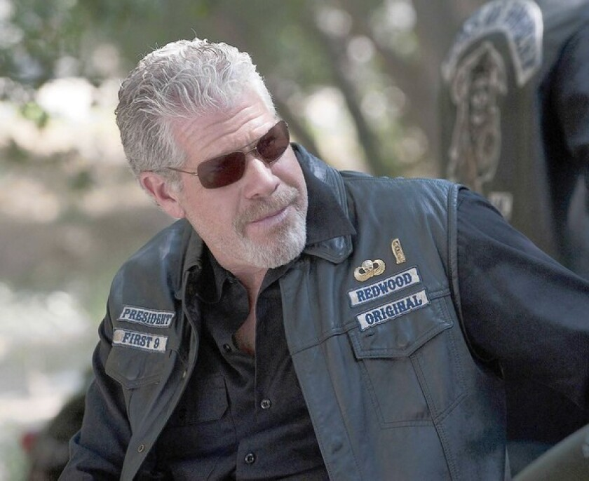 """Ron Perlman in """"Sons of Anarchy."""""""